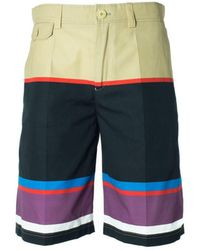 Givenchy - Mens Pure Cotton Multi Color Board Shorts - Lyst