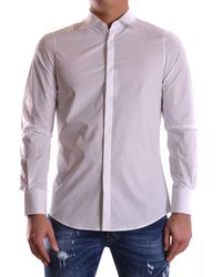 DSquared² - Men's White Cotton Shirt - Lyst