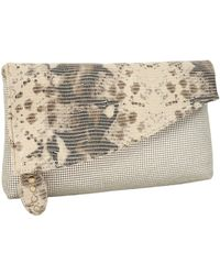 Whiting & Davis - Antique Reptile Clutch - Lyst