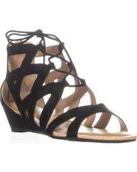 Esprit - Chrissy Gladiator Sandals, Black - Lyst