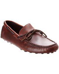 Frye - Men's Russel Leather Loafer - Lyst