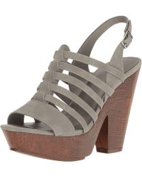 G by Guess - Womens Seany2 Fabric Open Toe Casual Ankle Strap Sandals - Lyst