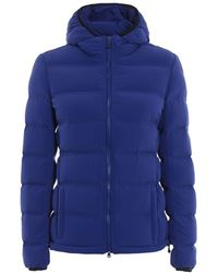 Aspesi - Women's Blue Polyamide Down Jacket - Lyst