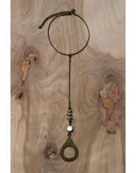 Love Leather - Rebel Yell Necklace - Lyst