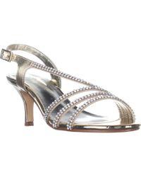 Caparros - Bethany Slingback Dress Sandals, Gold - Lyst