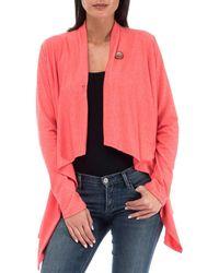 Bobeau - Women¿s One Button Wrap Cardigan Comfy, Cute & Stretchable Sweater - Lyst