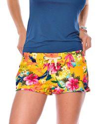 Banana Moon - Yellow Beach Shorts Pensacola Bribbie - Lyst