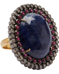 Socheec - Diamond Cocktail Ring - Lyst