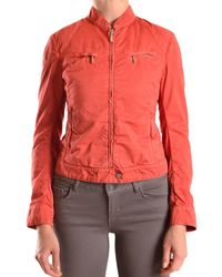 Brema - Women's Orange Cotton Outerwear Jacket - Lyst