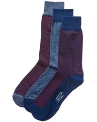 Original Penguin - Set Of 3 Socks - Lyst