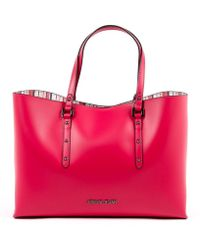 Armani Jeans - Womens Handbag Fuxia - Lyst