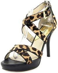 Michael Kors - Women's Evie Platform Sandals - Lyst