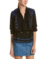Piper - Cinched Neck Top - Lyst