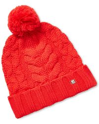 Temperley London - Chunky Cable Wool Hat - Lyst