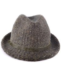 Jacob Cohen - Women's Green Polyester Hat - Lyst
