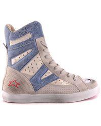 Ishikawa - Women's Grey Suede Ankle Boots - Lyst