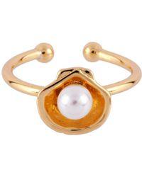 Les Nereides - I Am A Mermaid Little Shell Adjustable Ring - Lyst