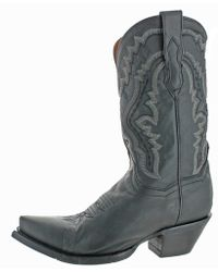 Dan Post - Womens Trinity Leather Embroidered Cowboy, Western Boots - Lyst