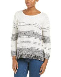 Soft Joie - Kenley Fringe-trimmed Sweater - Lyst