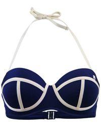 Banana Moon | Navy Blue Balconnette Swimsuit Transat Verano | Lyst