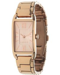 Esprit - Watch Casey Pink Gold Es107112003 - Lyst