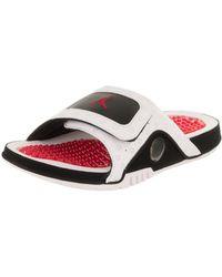 cfadf95fa8bac Lyst - Nike Men Jordan Hydro 6 Sandals in Black for Men