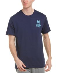 Psycho Bunny - Crewneck T-shirt - Lyst
