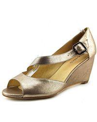 Klub Nico - Kypsy Women Open Toe Leather Wedge Sandal - Lyst