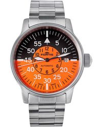 Fortis - :flieger Cockpit Orange-black Watch - Lyst