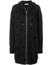 Alexander McQueen - Women's Black Cotton Sweatshirt - Lyst