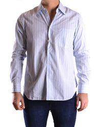 Aspesi - Men's Mcbi150174o Light Blue Cotton Shirt - Lyst