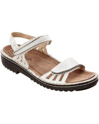 Naot - Anika Leather Sandal - Lyst