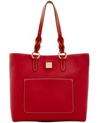 Dooney & Bourke - Pebble Grain Pammy Tote - Lyst