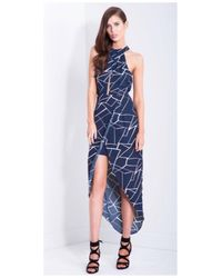 Lumier - Ying Yang Midi Wrap Dress - Lyst