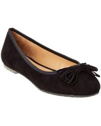 Me Too - Cassi Leather Flat - Lyst