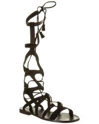 Frye - Women's Ruth Tall Suede Gladiator Sandal - Lyst