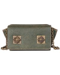 Sonia Rykiel - Women's Green Leather Shoulder Bag - Lyst