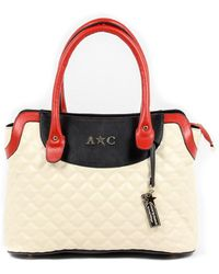 Andrew Charles by Andy Hilfiger - Andrew Charles Womens Handbag Beige Hope - Lyst