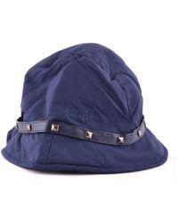Liu Jo - Women's Mcbi191197o Blue Polyester Hat - Lyst