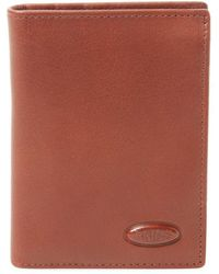 Bric's - Monte Rosa Leather Slim Vertical Wallet With Id - Lyst