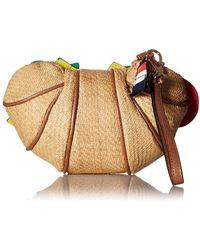 Betsey Johnson - Croissandwhich Wristlet Bag - Lyst