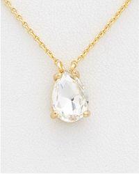 Rebecca Minkoff - Crystal Vette Choker Necklace - Lyst