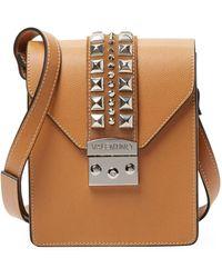 5d4d53c4eb2a Valentino By Mario Valentino - Bridgette Palmellato Leather Shoulder Bag -  Lyst