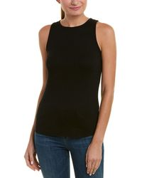 Vince - Ribbed Tank - Lyst