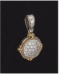 Konstantino - Asteri 18k & Silver 0.32 Ct. Tw. Diamond Pendant - Lyst