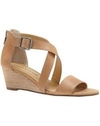 Lucky Brand - Jenley Wedge Sandals - Lyst
