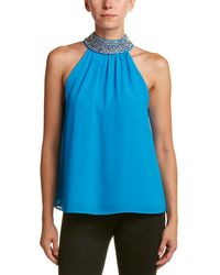 Belle By Badgley Mischka - Top - Lyst