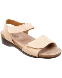 Munro - Catelyn Leather Sandal - Lyst