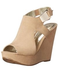 Carlos By Carlos Santana - Womens Malor 2 Fabric Open Toe Casual Platform Sandals - Lyst