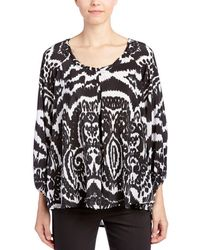 Tori Richard - Silk Blouse - Lyst